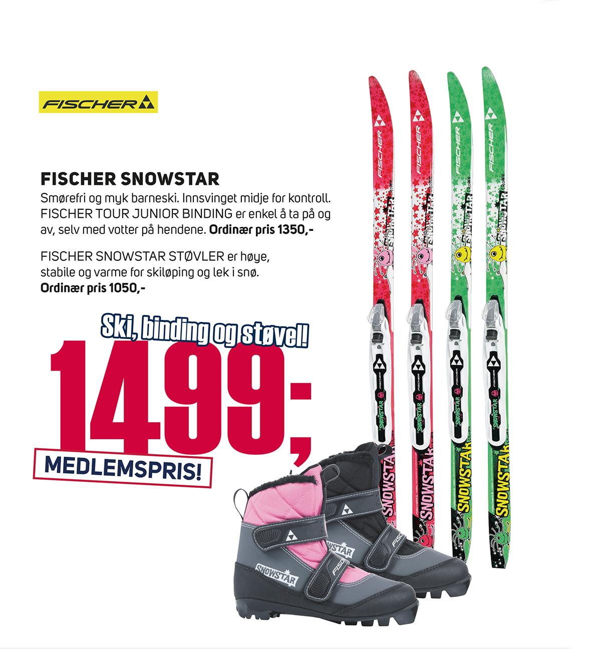 Skipakke ski, binding og støvel | XXL
