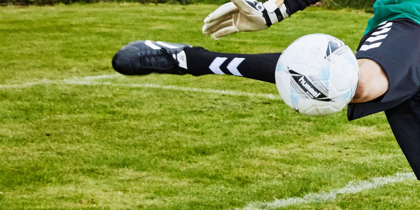 Fotballsko er ikke sko man skal vokse inn i, de må passe foten.